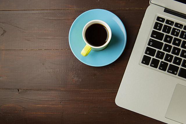 Kaffee Gespräch mit Kunden